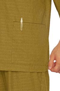 作務衣上衣[男女兼用] 腰ポケット