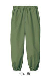 和風パンツ男女兼用 C-6 緑