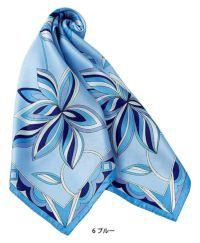 スカーフ ブルー