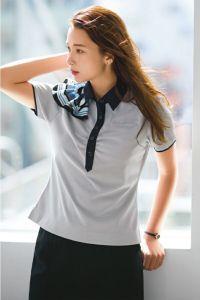 女性ポロシャツ半袖 SwingARM360°