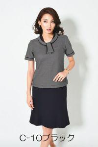 女性ポロシャツ半袖 スカート