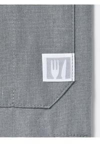 コックシャツ七分袖男女兼用 ネームUP