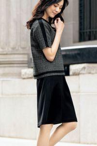 プルオーバージャケット半袖 スカート
